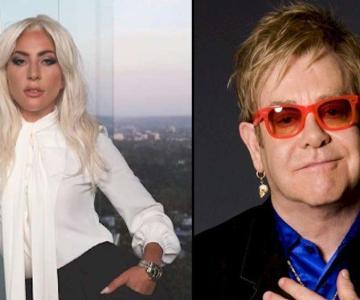 """Lady Gaga e Elton John trabalham em nova música: """"hardcore extremo"""""""