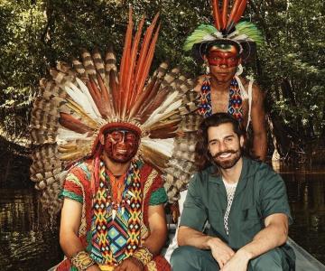 Indígenas do Acre se apresentam com Alok em festival internacional de música