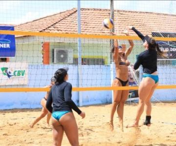 Dupla acreana é vice-campeã da segunda etapa do Circuito Amazônia de Vôlei de Praia