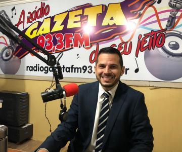 Rodrigo Aiache fala sobre as dificuldades da classe dos advogados no Acre em entrevista ao Jornal Gazeta 93